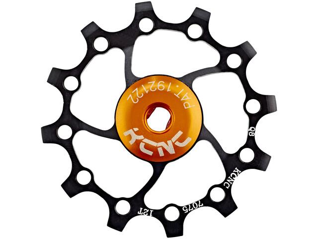 KCNC Jockey Wheel Original SS Bearing Long Teeth 12 Zähne black